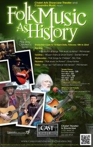 Chalet Folk History Poster